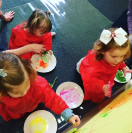 Sensory   We support your child to engage comfortably in a variety of sensory activities.
