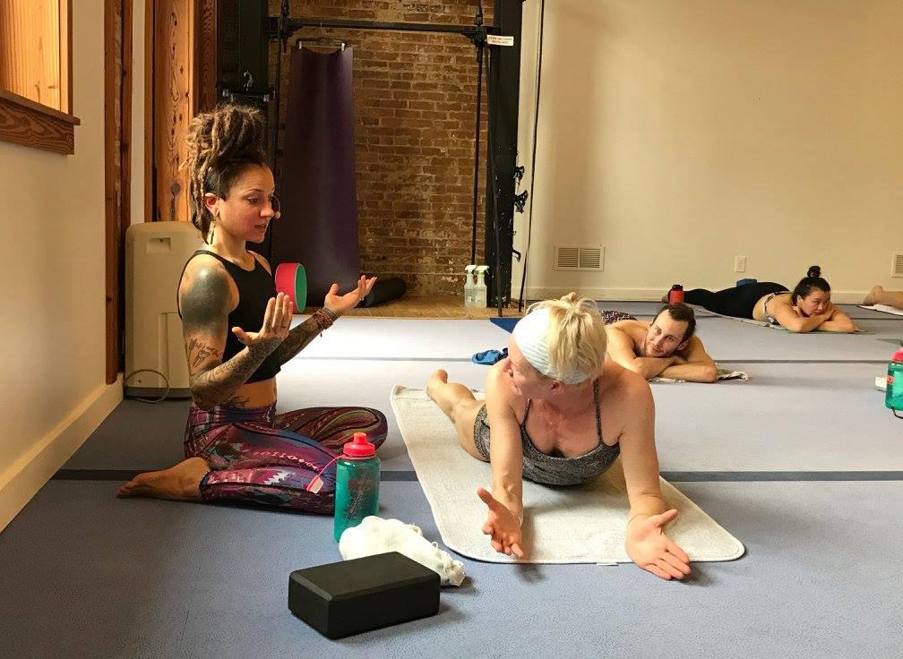 Gianna Purcell Teaching