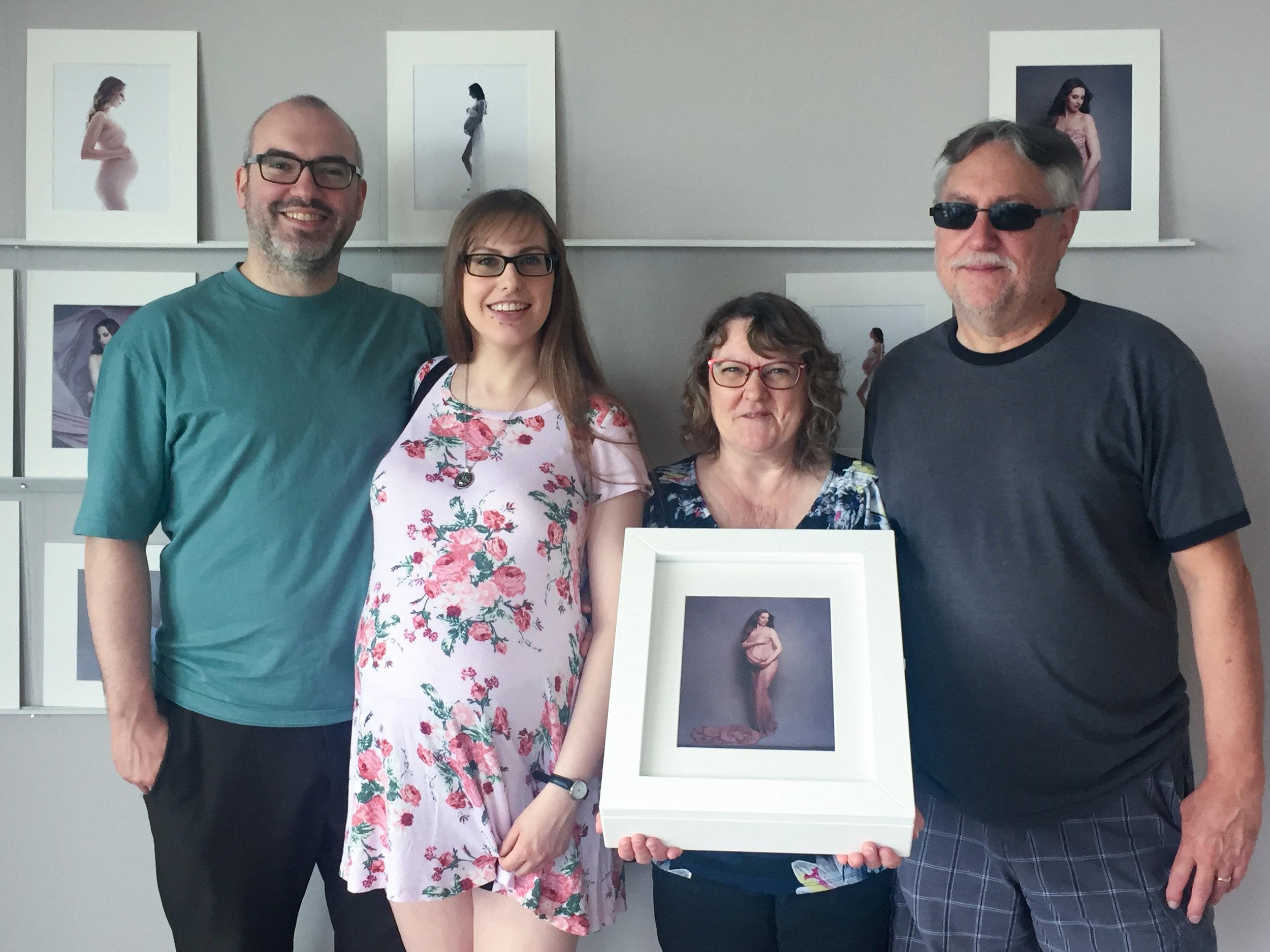 Photo pick up session at Liliya Lubenkova Portraits, Vancouver BC