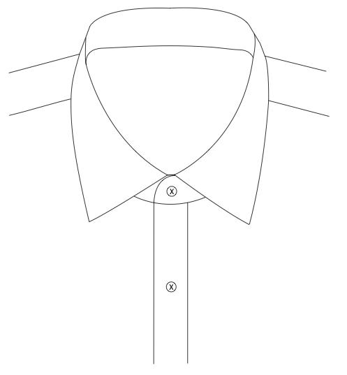 Normal Spread Collar 7.1cm