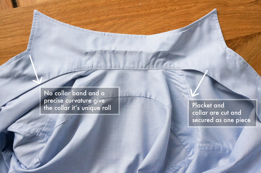 Inside the Construction of our One Piece Collar