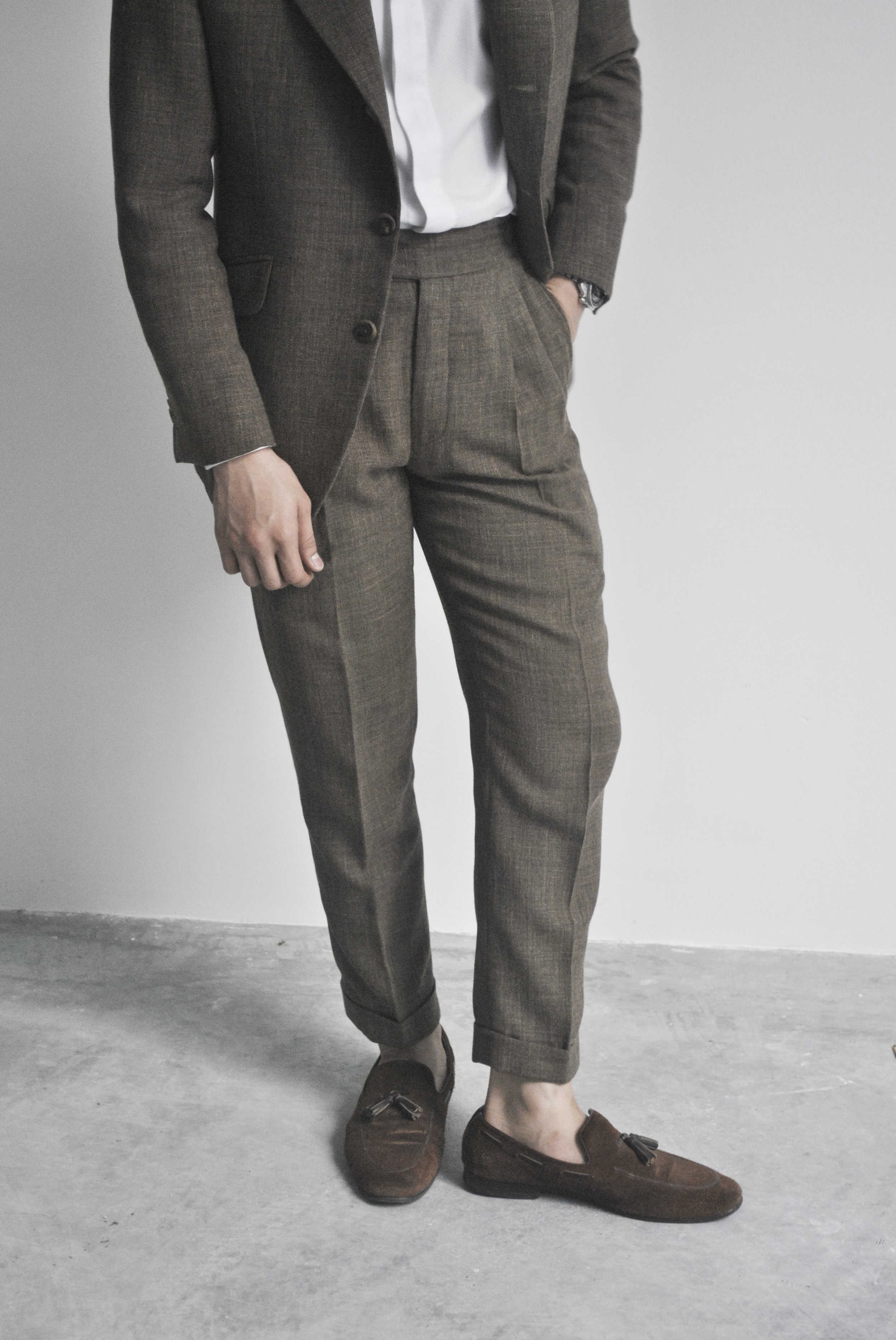pleated trousers by made suits