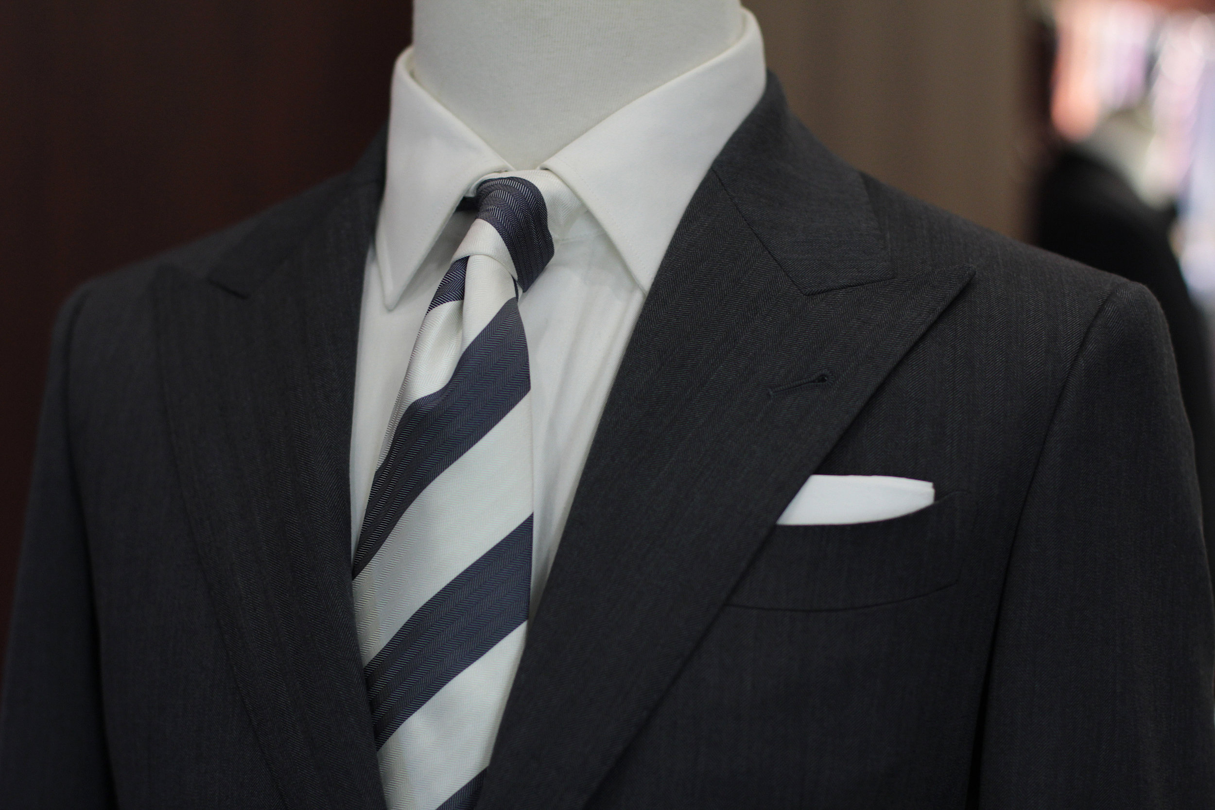 Mr Seal   Made Suits Singapore tailor made to measure side view Peak Lapel.JPG