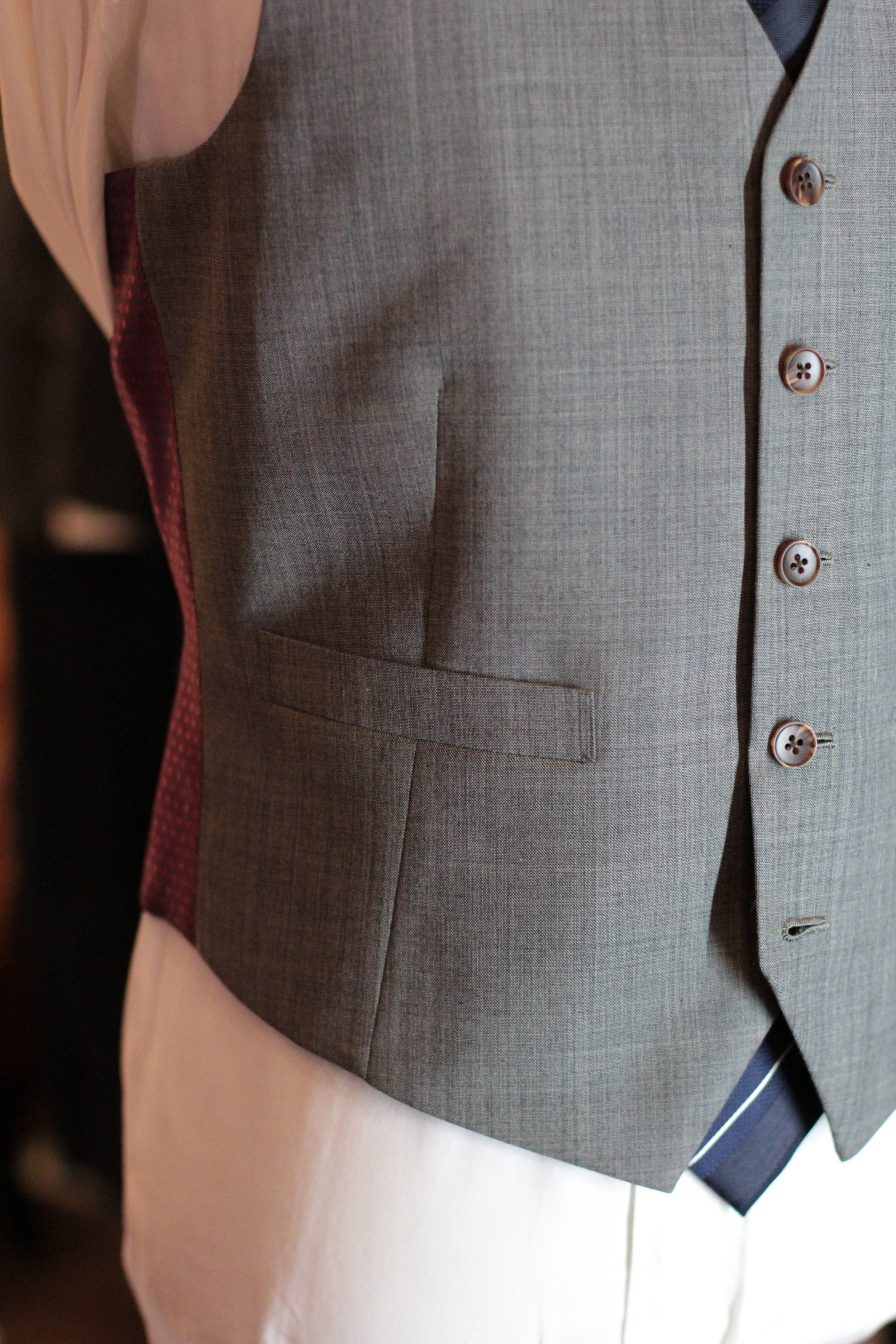 Jetted Pocket Mr Specter Waistcoat   vest   Made Suits   tailor made suits   Singapore tailor   bespoke   tailored suit copy.JPG