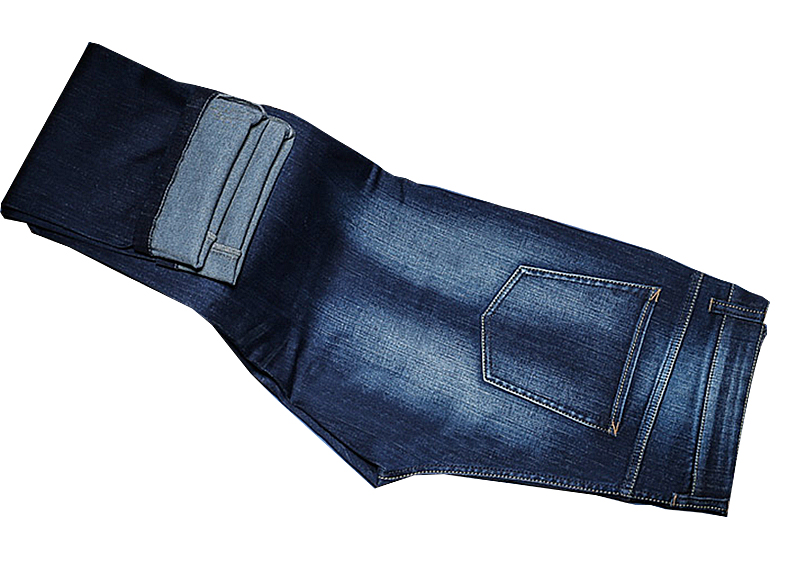 Denim Jeans Blue Faded  Bespoke  Made to measure   Denim Jeans HYSS16048 Blue full view.jpg