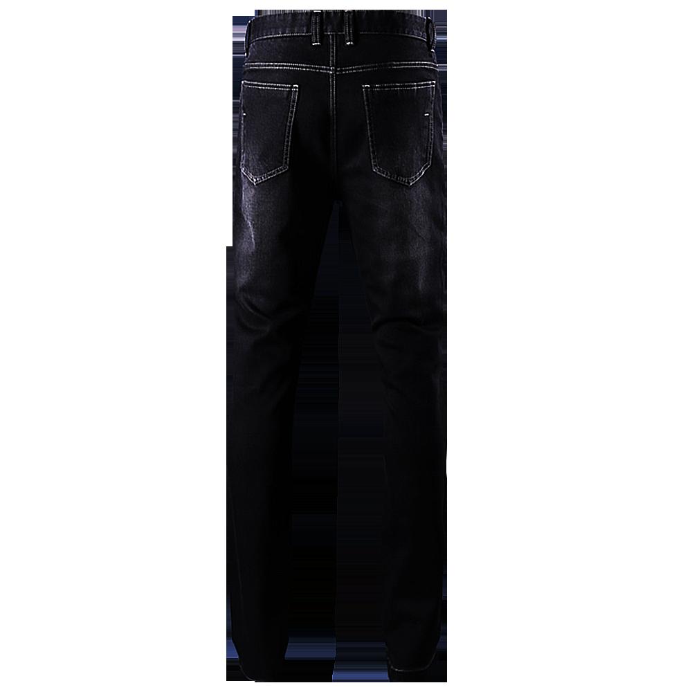 Panther Back Black Denim Jeans | Bespoke| Made to measure | Denim Jeans.png