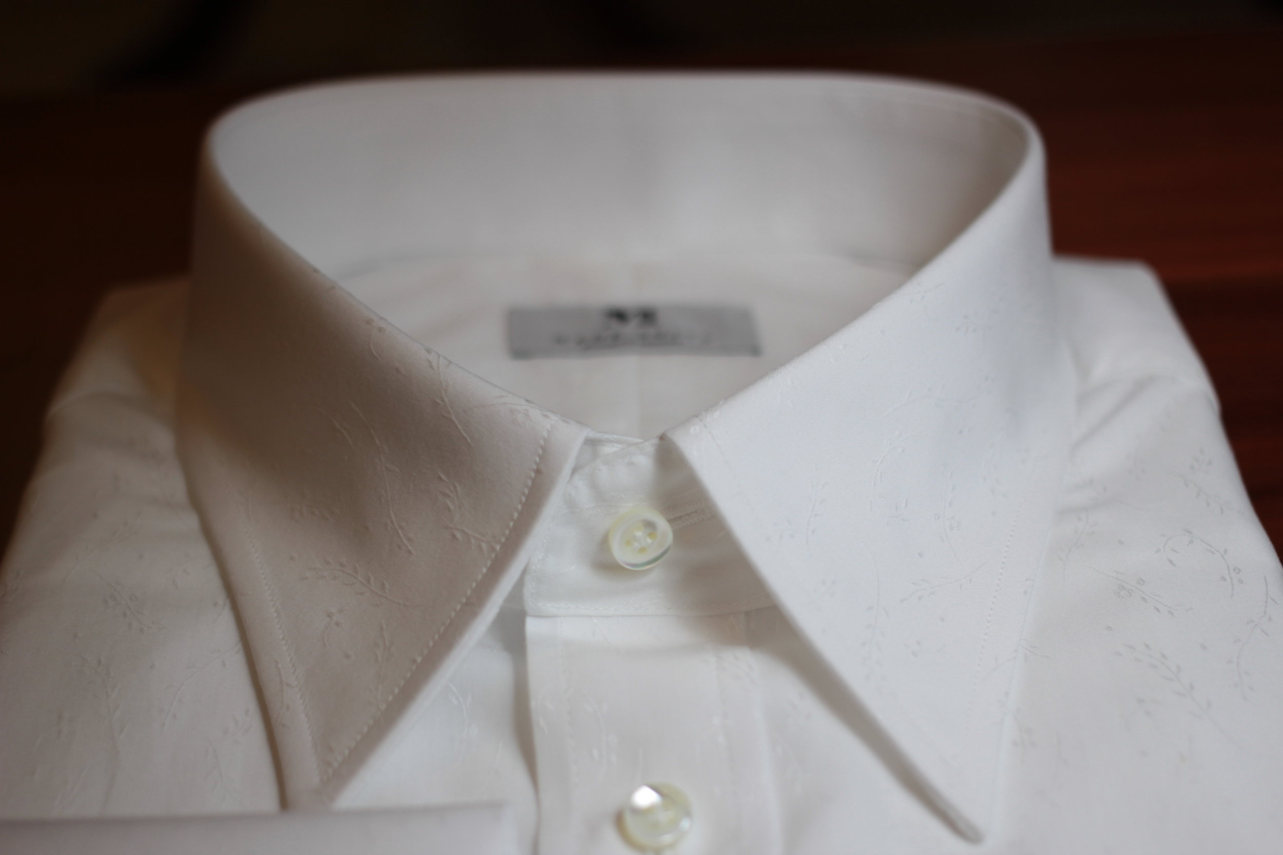 Pointed Collar By Made Suits