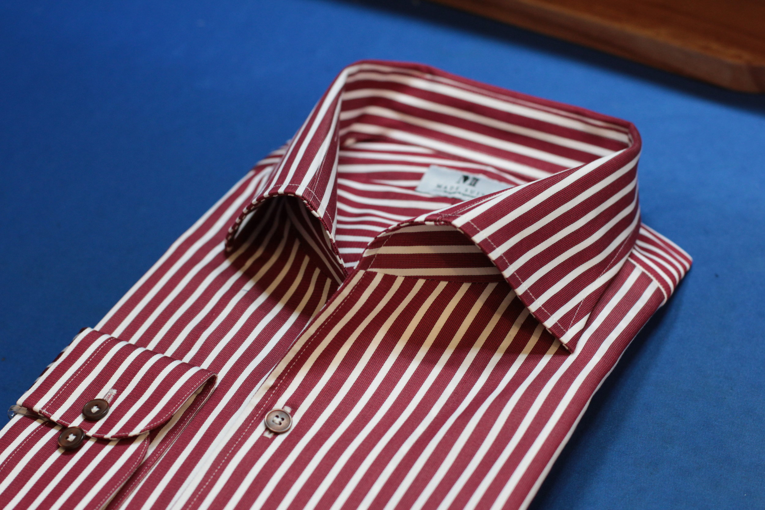Red Stripes One piece collar.JPG