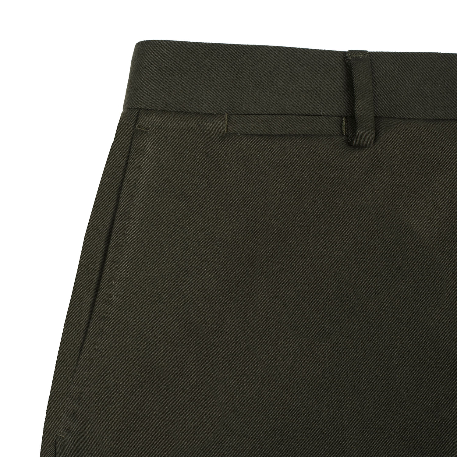 Slanted Pockets with Pic Stitching