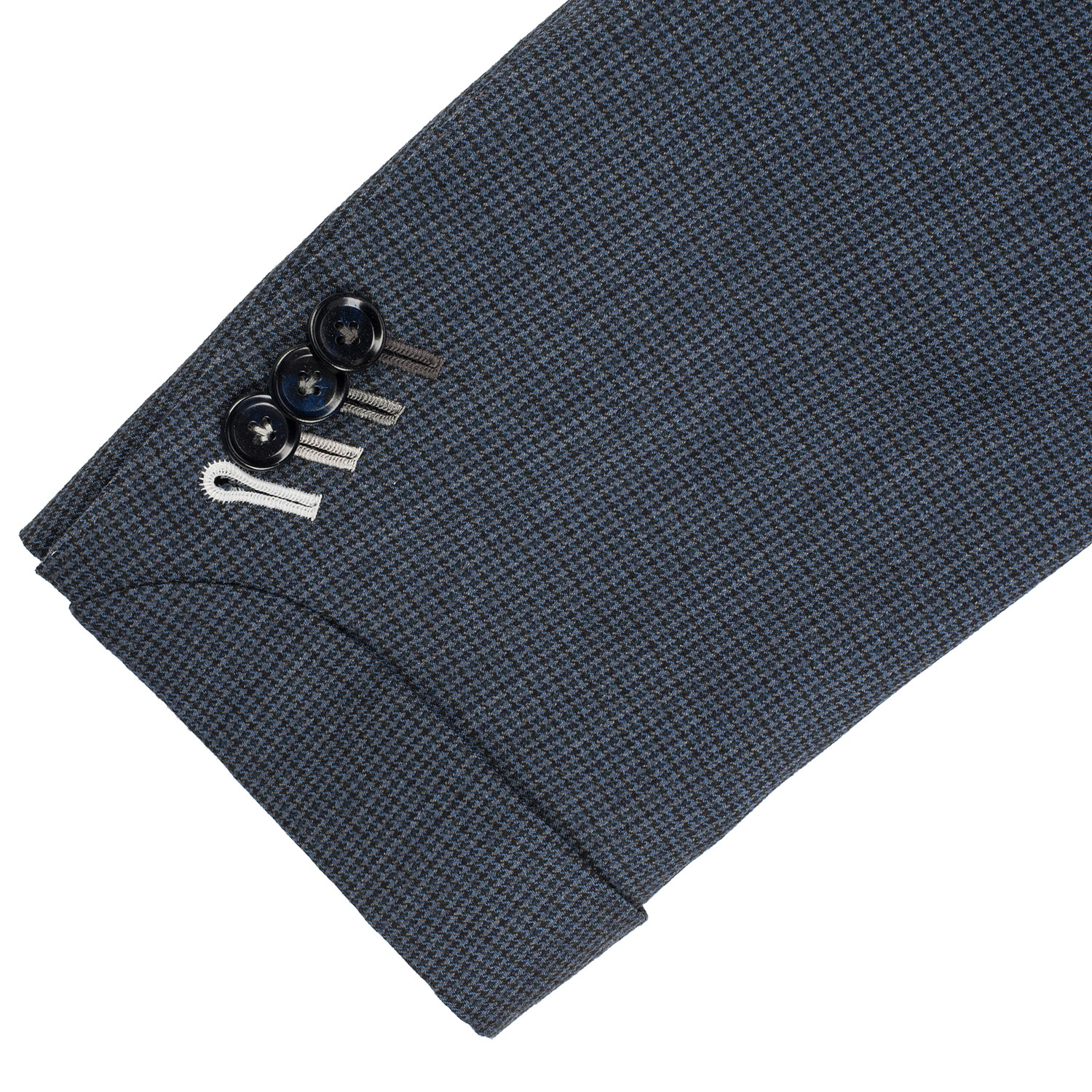 Functional Sleeve Button with Natural Horn buttons