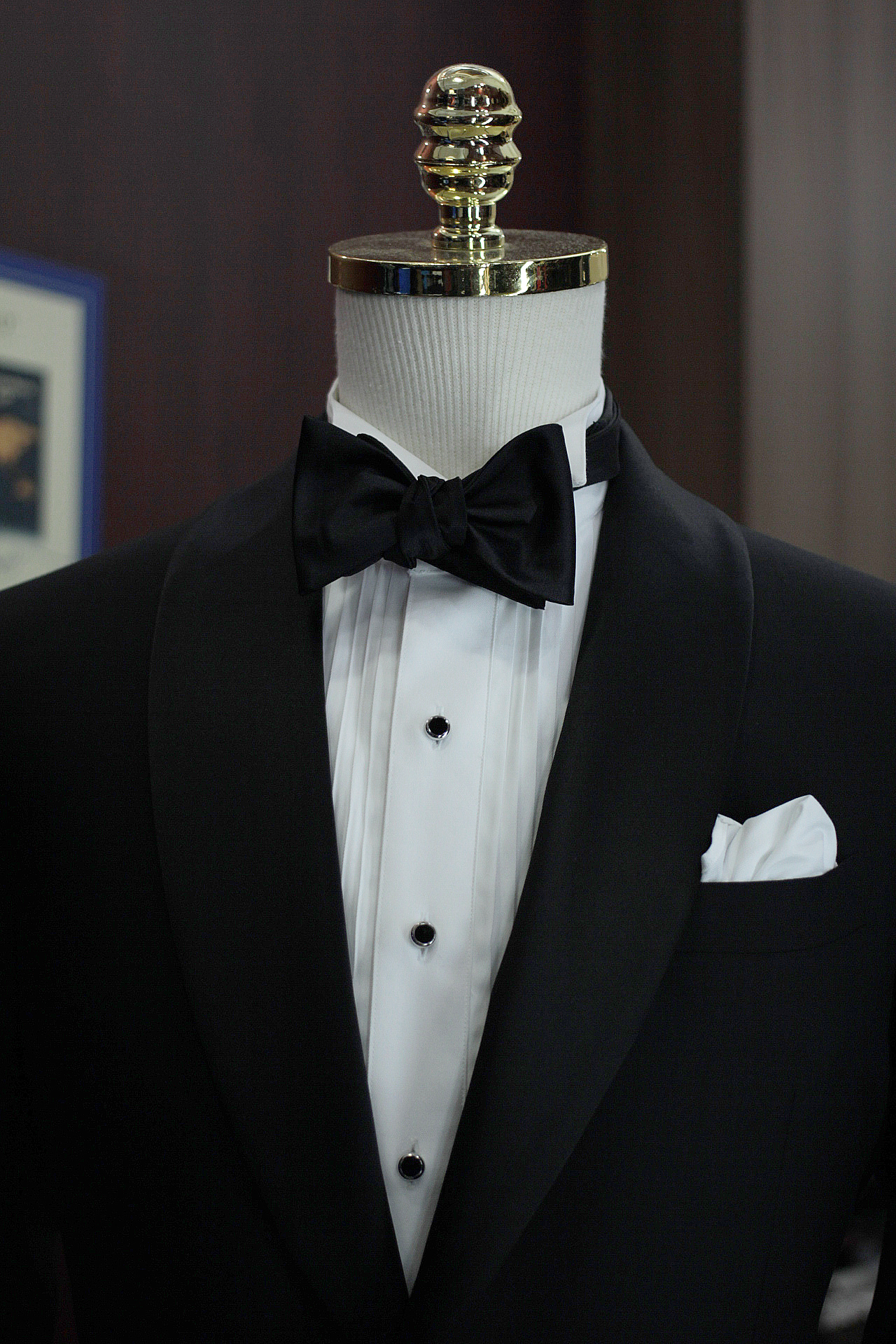 Skyfall Tuxedo Made Suits Tailored Bespoke Tuxedo Singapore inner lining bowtie filarte.JPG