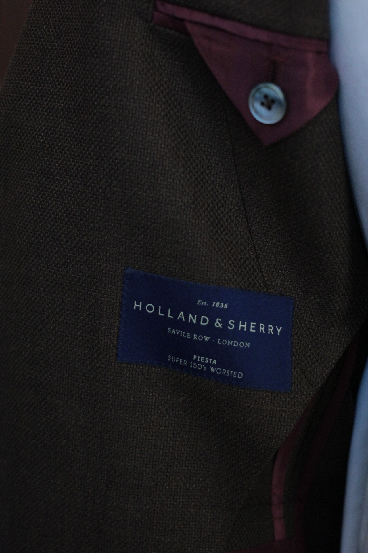 Super 150s WORSTED by Holland & Sherry