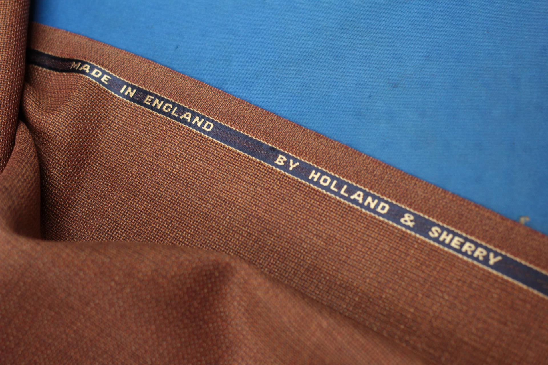 Holland & Sherry Selvedge By Made Suits Only.