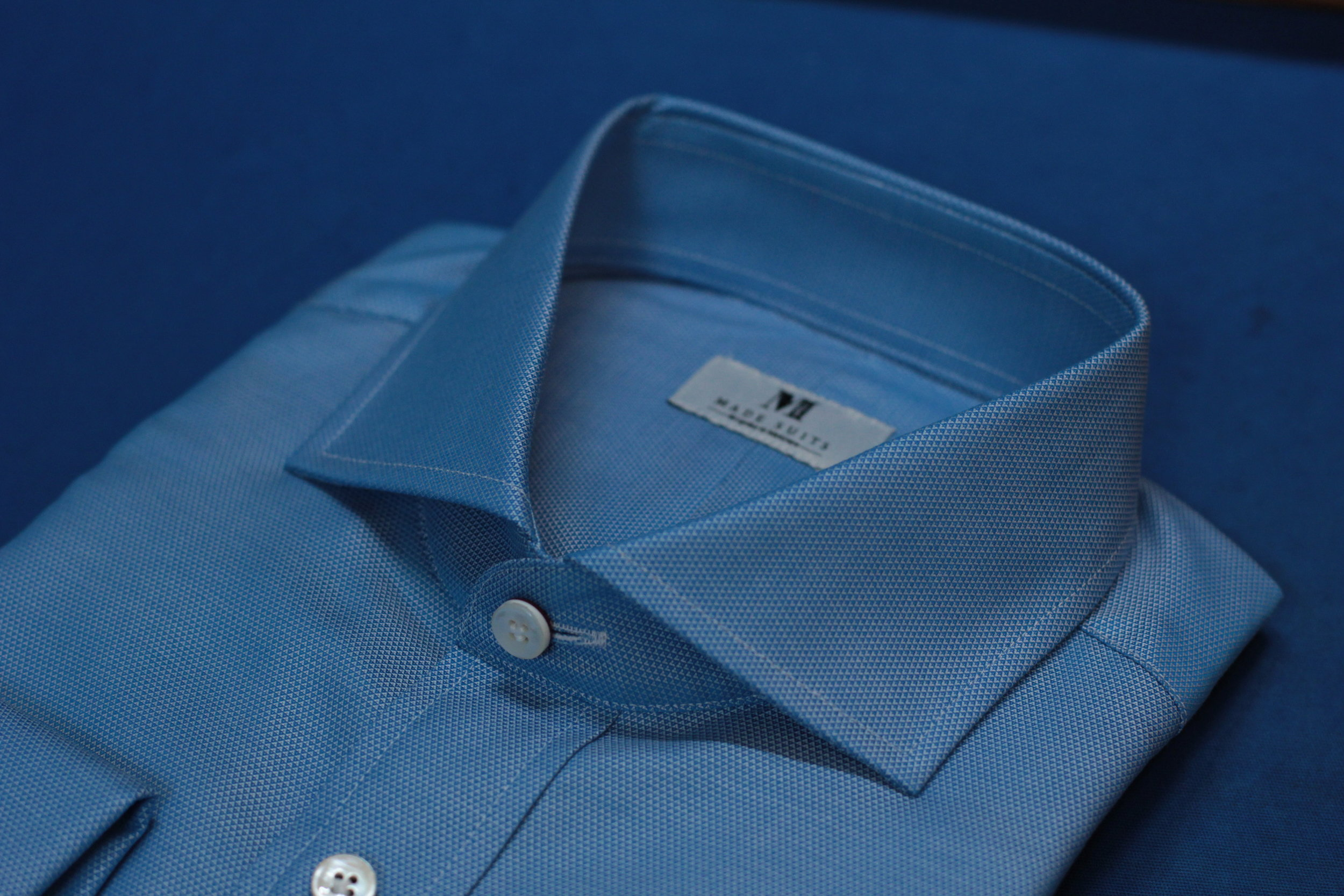 Turquoise Blue | Made Suits | Tailor Made Shirts | Made to Measure Singapore side.JPG