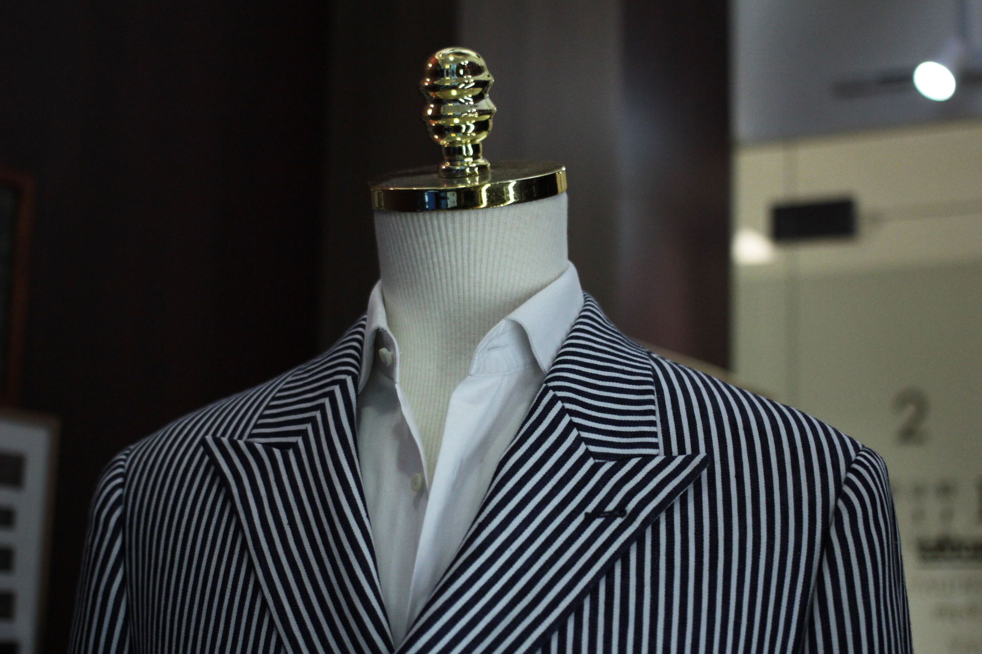 Blue Ming | Stripes Double Breasted Suit | tailor suit singapore | made suits singapore | MARZONI banner.JPG