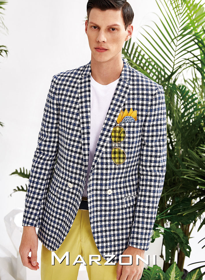 Ribbon | MARZONI | Tailor Made Suits | Made Suits Singapore | Blazer | Checks Suits lookbook.jpg