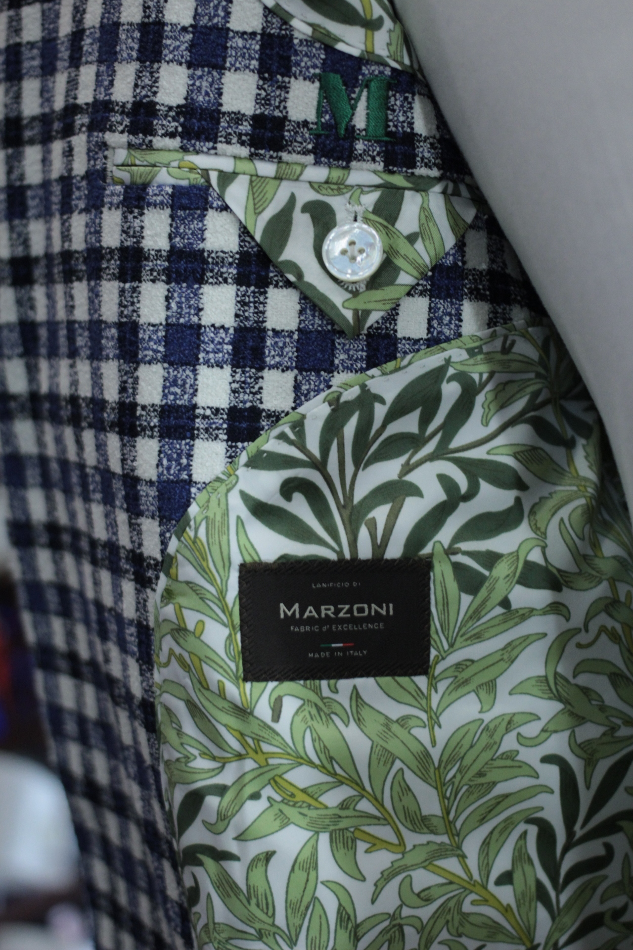 Plant Lining with Marzoni Label