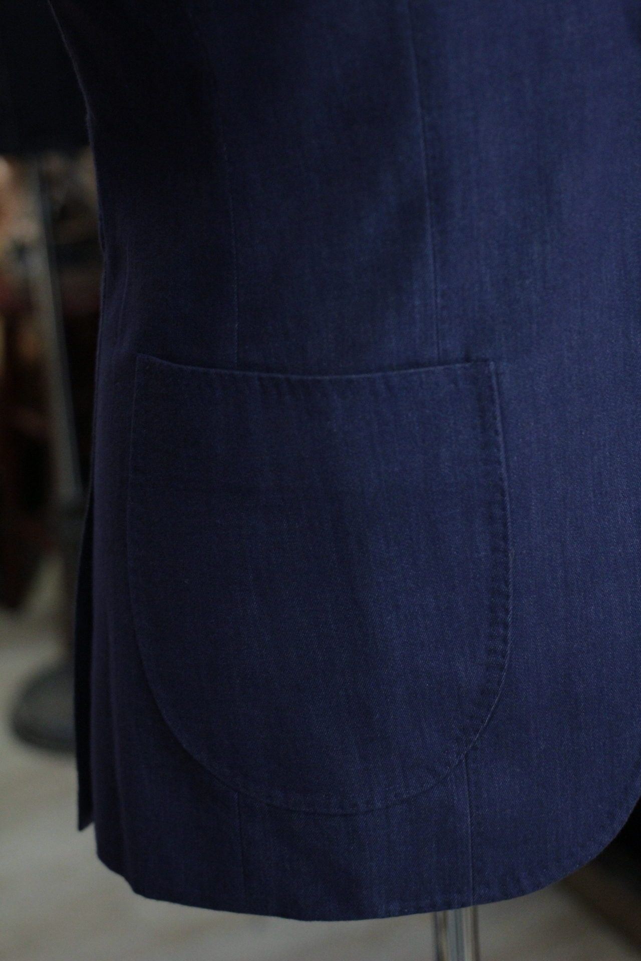 Rounded Patch Pocket