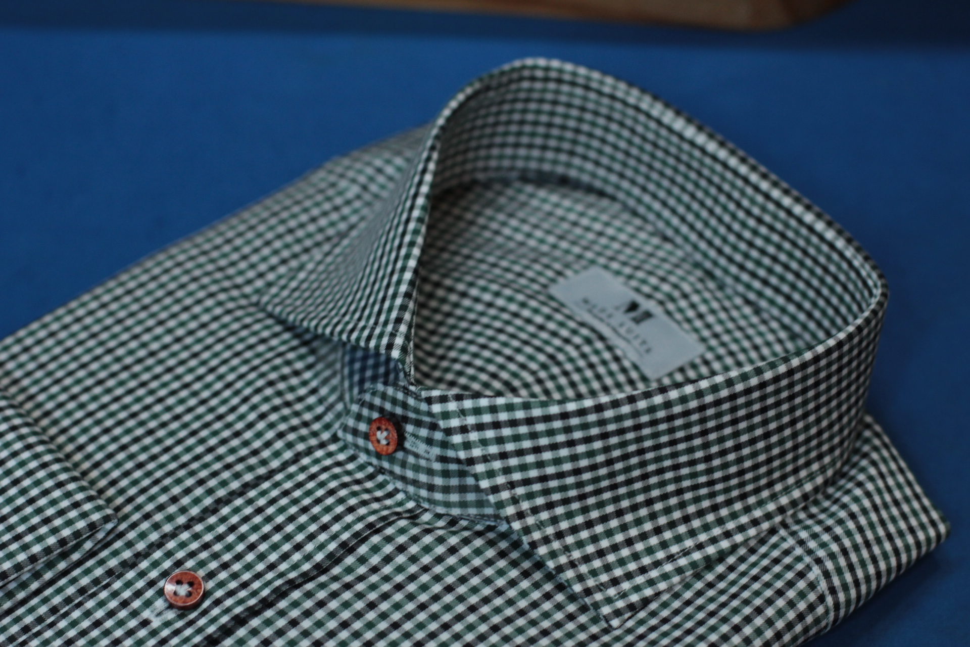 Green Checks | Made Suits | Tailor Made Shirts | Made to Measure Singapore side.JPG