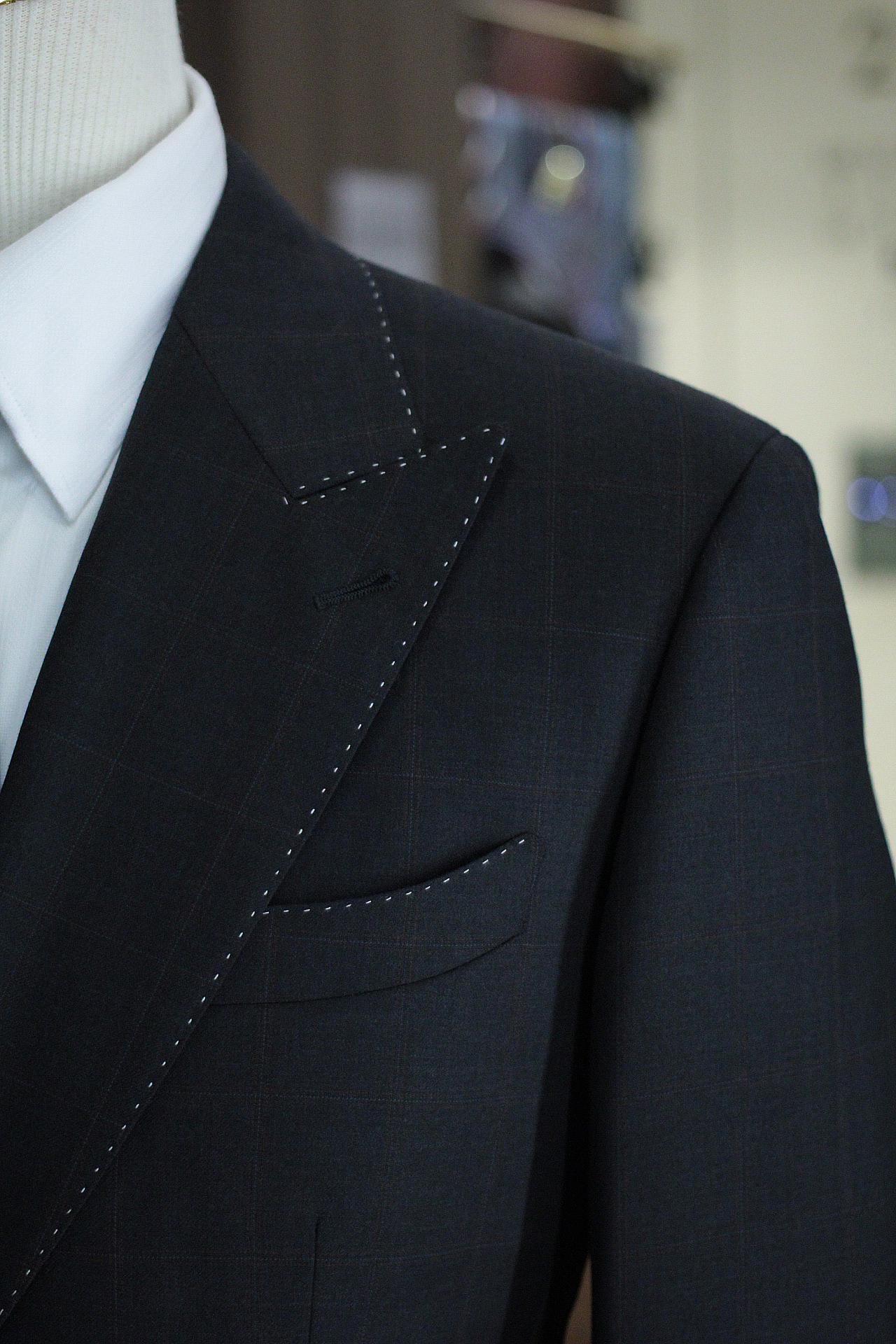 Soft Shoulder | Pattern Checks Matching