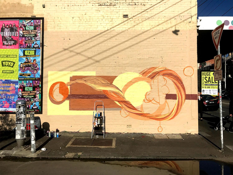 Sackville Street Mural Sketch