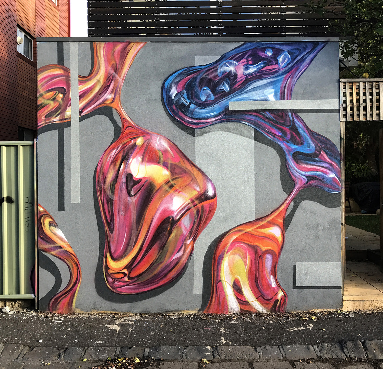 LITTLE ABBOTS STREET MURAL | SPRAY PAINT | 2017