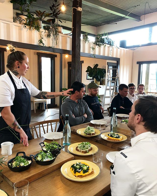 Today we had the absolute pleasure of training the new crew down @common_ground_project on the coffee machine. Followed by being spoilt with a menu tasting thanks to the kitchen team, headed by the legend Sandy. A thoughtful menu that is both delicious and nutritious! Opening Monday 15th July, get your skates on!