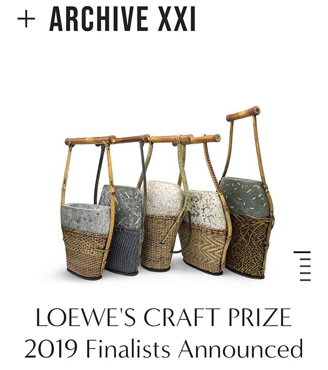 The LOEWE FOUNDATION just announced the 29 artists chosen for the Craft Prize 2019 and you should check it!!were talking about this this week. #LOEWECRAFTPRICE (link in bio)