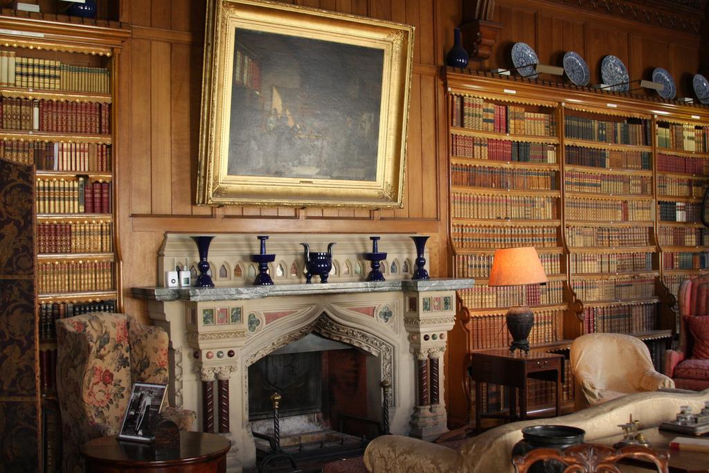 Tyntesfield house library