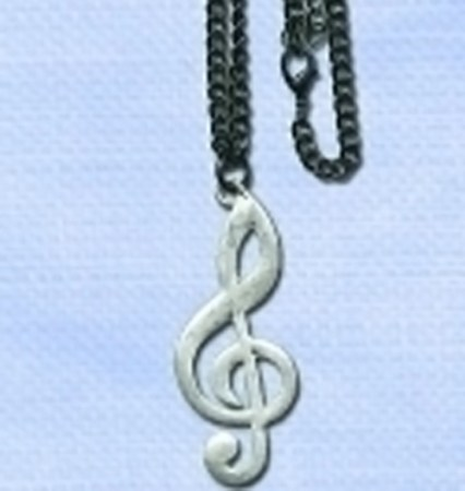 MUSIC NOTE NECKLACE -