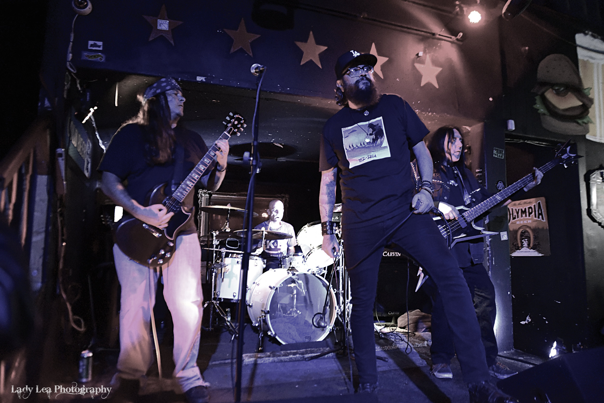 Cooter Brown Live at 5 Star Bar 10/11/18 - Photo by Lady Lea Photography