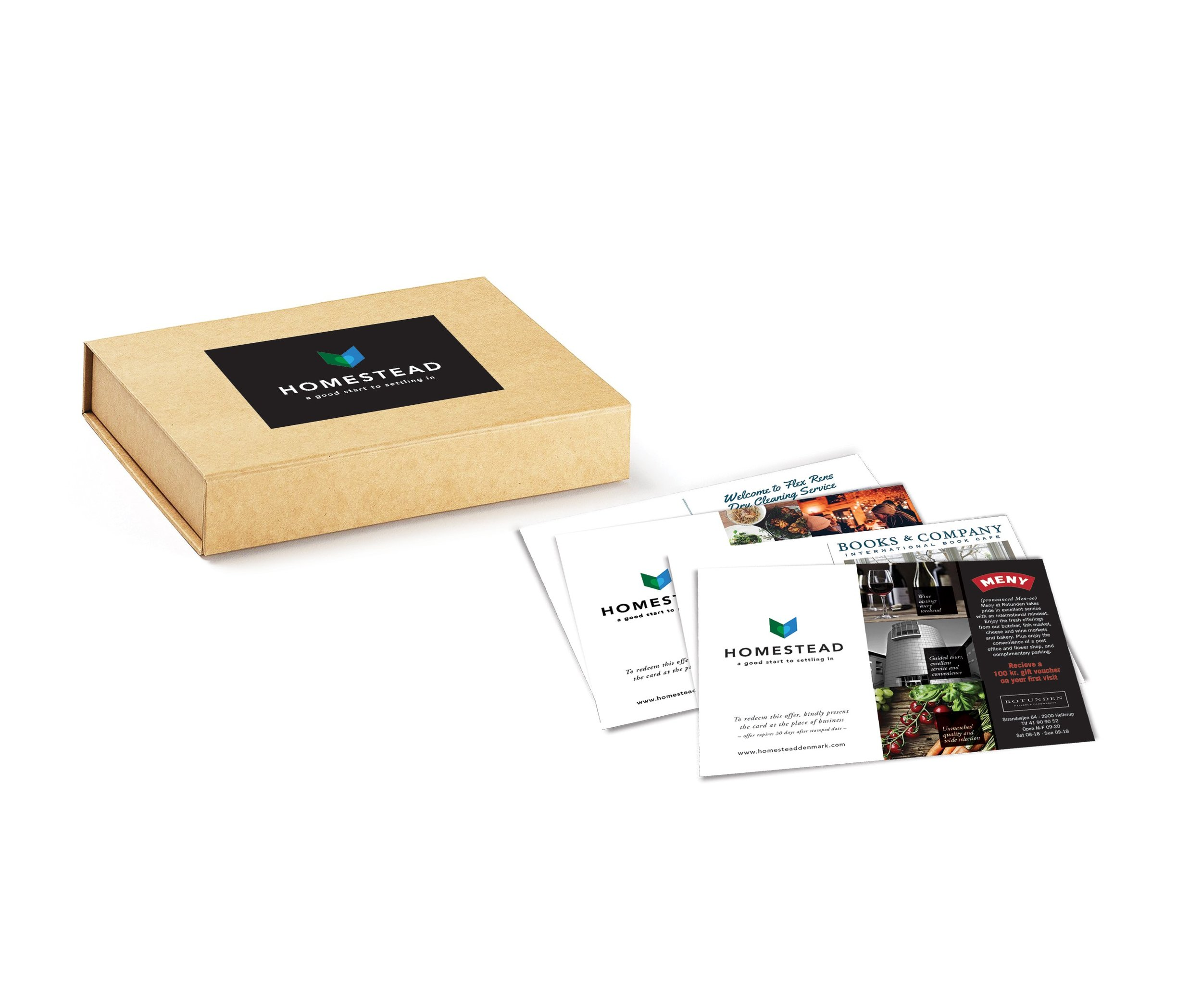 Order your complimentary Homestead Welcome Kit - All the important information regarding your local municipality, local amenities, event calendars and offers and discounts from businesses in your local community!