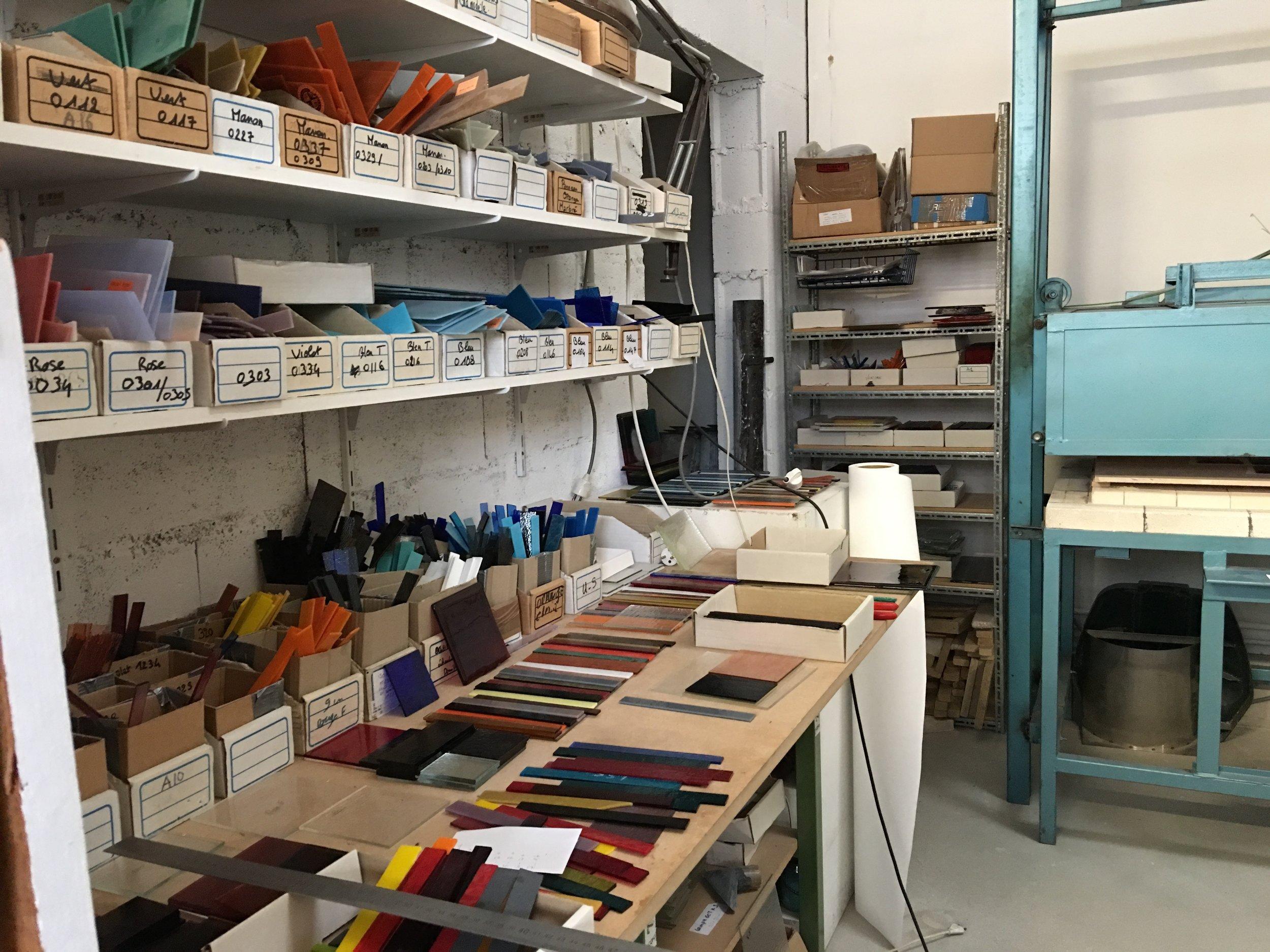 Until end of April:ateliers Clarisse Dutraive -