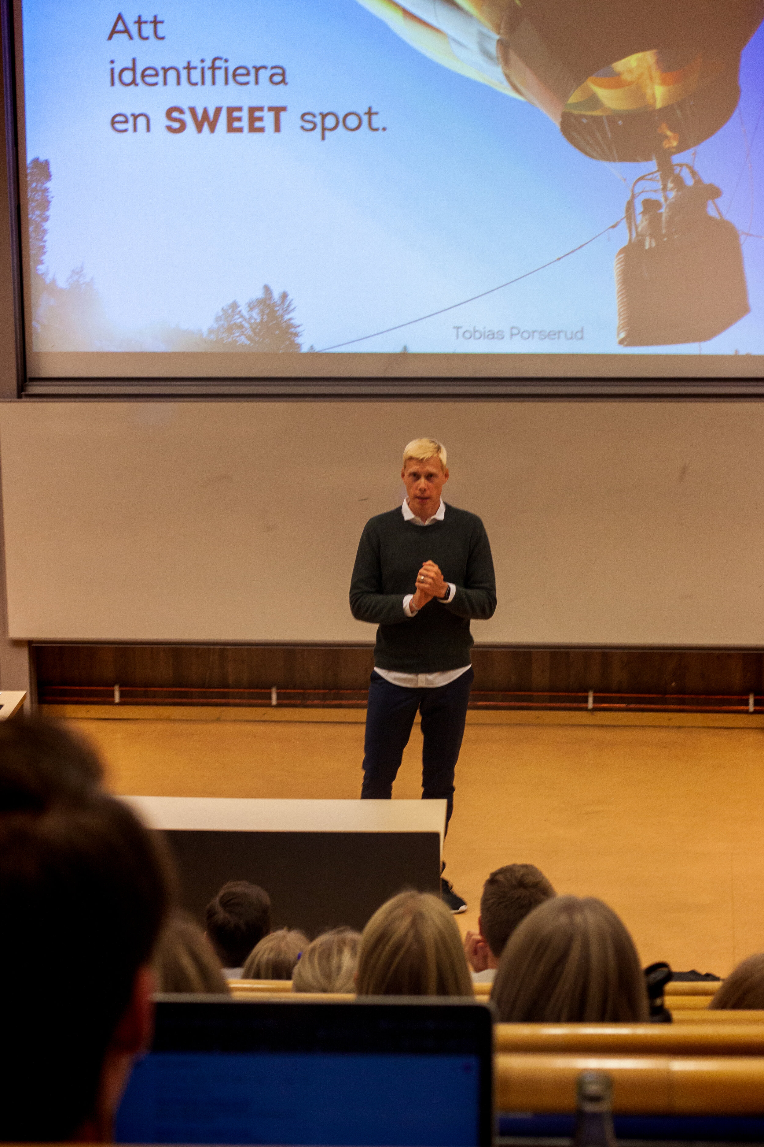 Tobias inspirationsföreläser i Linköping