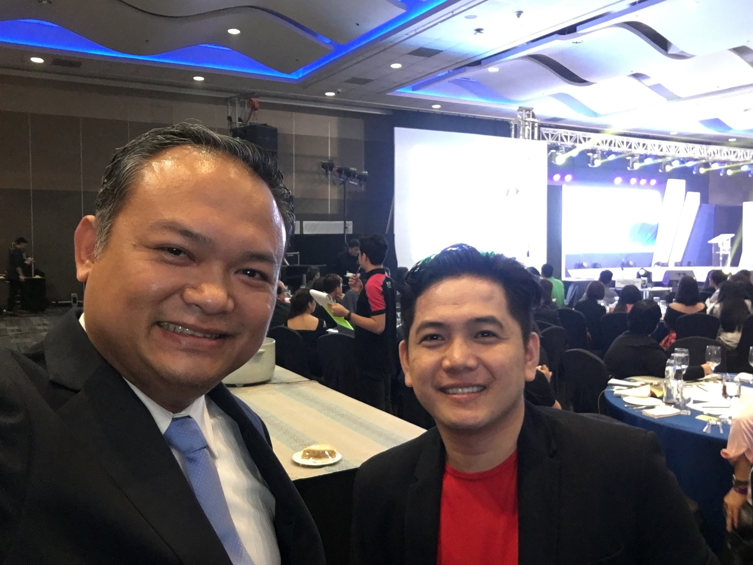 """""""Congratulations Sir Eric for another successful learning event today. We are glad to have you as one of our partner speaker at ARIVA Speaker Bureau."""" - JM Matienzo, Chairman, Ariva Academy -"""