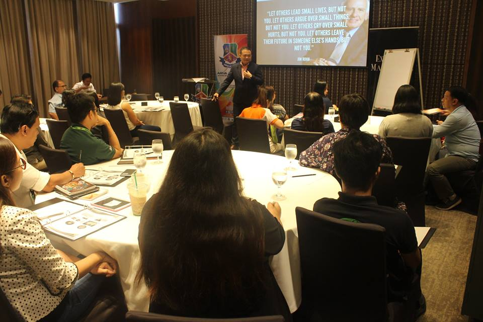 """""""One of the most reflective trainings I've attended! There were a lot of AHA moments and insights. Thank you, Sir Eric Manalo."""" - Ms. Clauds Acyatan, Victory Christian International School -"""