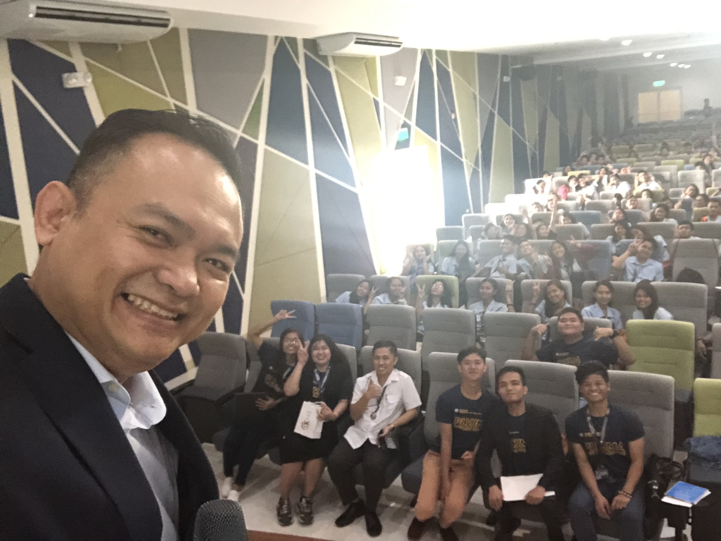 We hope someday when we meet again, will be able to give our gratitude to all the advise you shared during the seminar. You are such an inspiration to us sir Eric Manalo. - Pamantasan ng Lungsod ng Valenzuela, Junior Marketing Association 2019. -