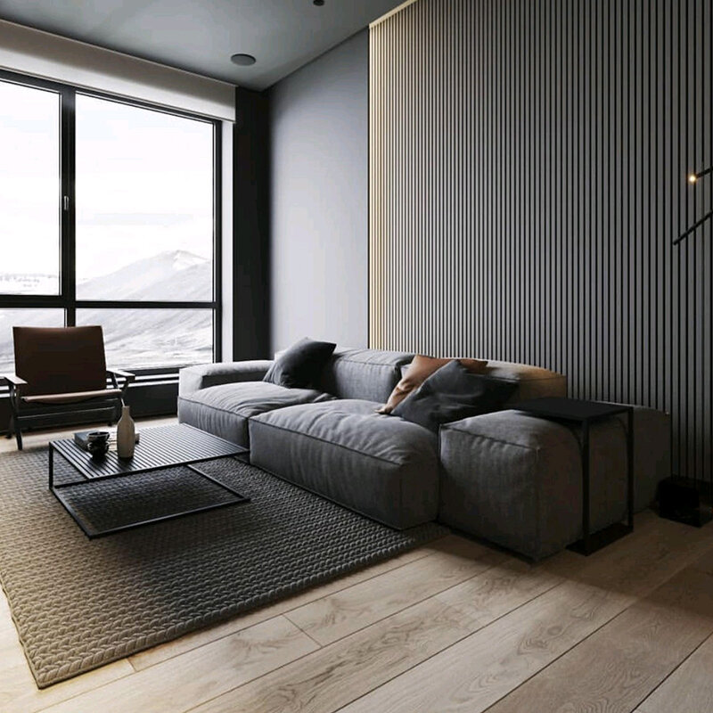 Chroma Fluted Panels, Wall Panels For Living Room