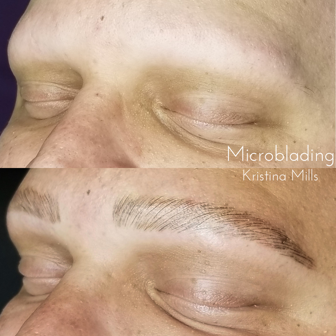 Mens Microblading