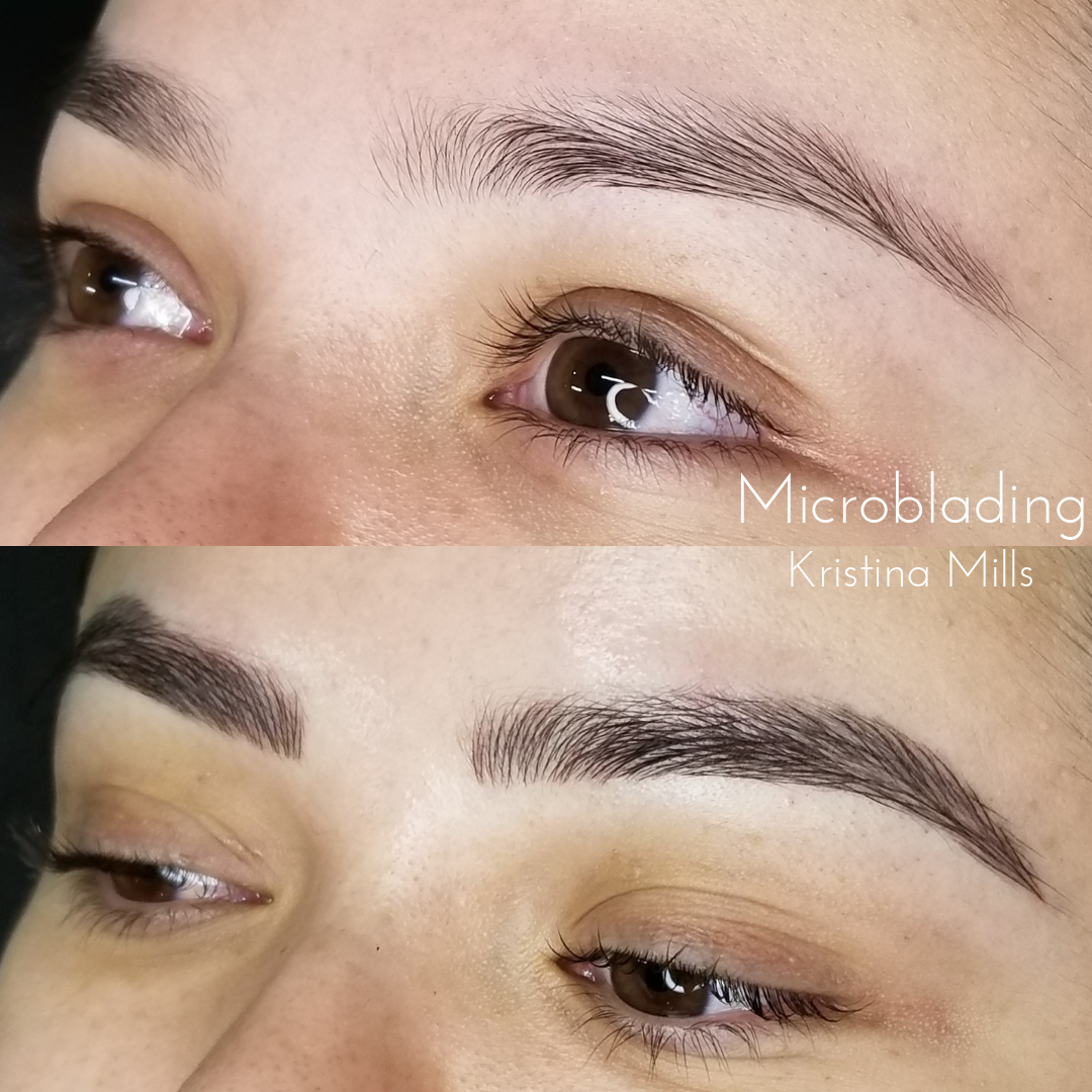 Before After Atlanta Cosmetic Tattooing