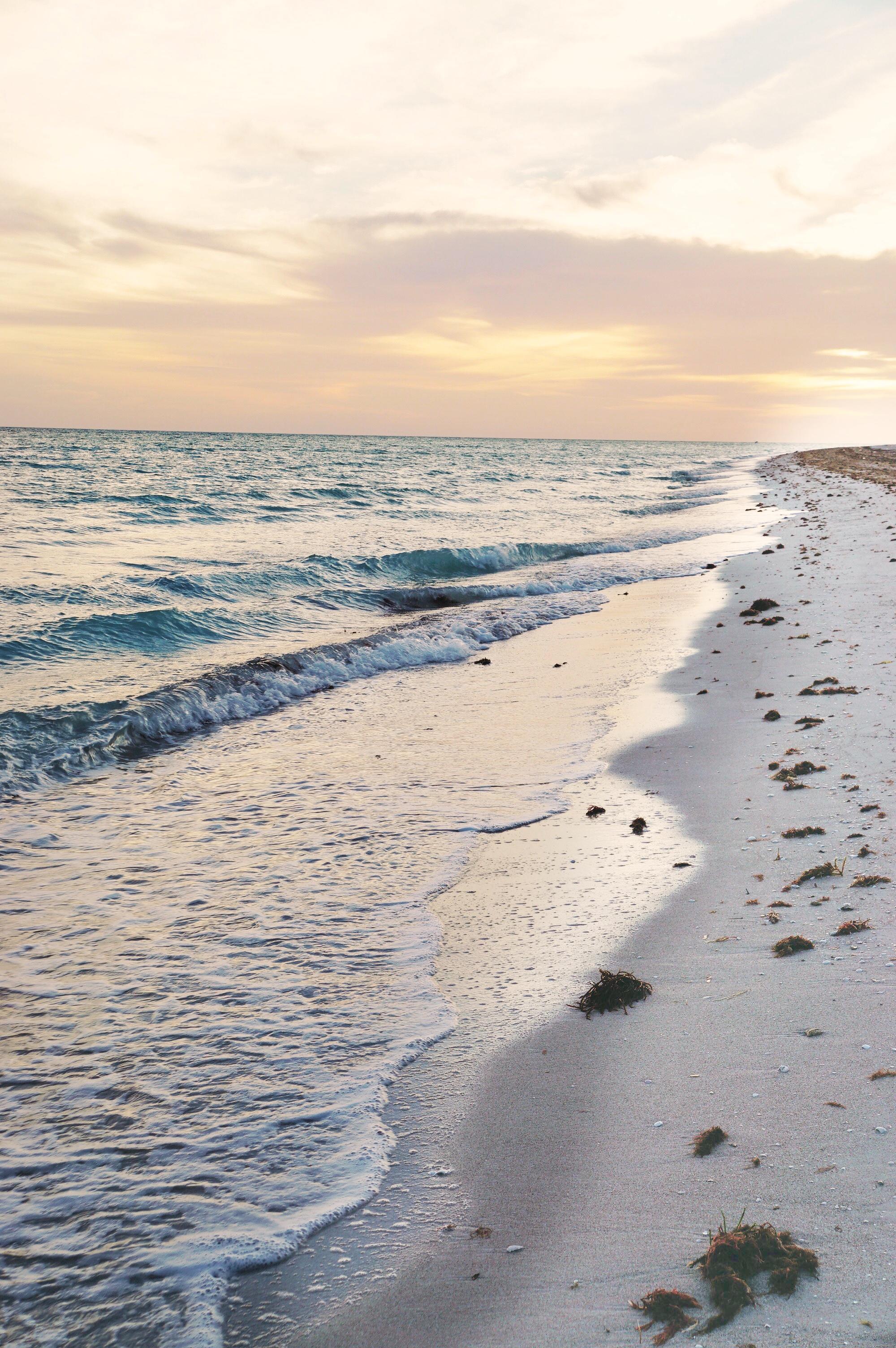Sunrise in Playa Las Coloradas