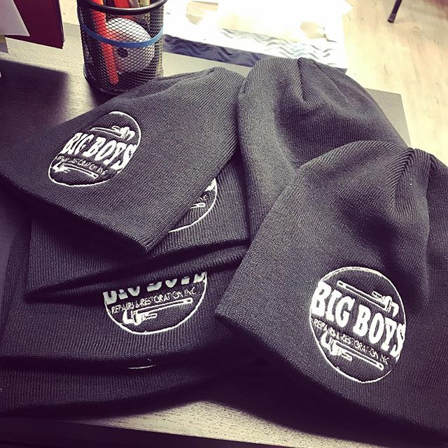 ❄️WINTER IS COMING!❄️Keep your head warm with one of our BIG BOYS toques! 💥LIMITED STOCK💥 . . . #Winnipeg #WinnipegPlumbers #BugBoysRepairs