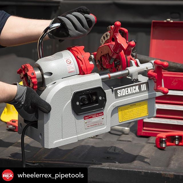 Make sure to check out this amazing brand and visit there IG page for amazing products @wheelerrex_pipetools ! Remember.. We are Winnipeg's authorized dealer for them! #bigboysrepairs #winnipeg #manitoba #WheelerRex #Threader #winnipegcontractors