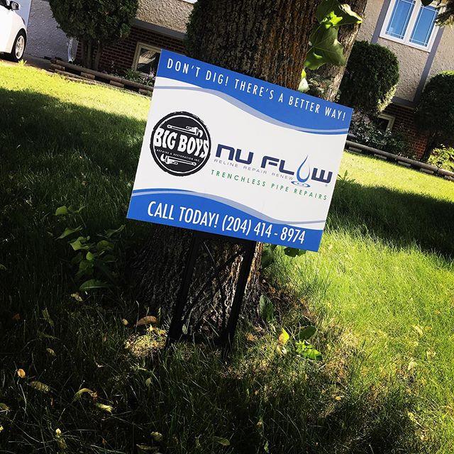 we are your certified Nu-Flow installers ! #winnipeg #bigboysrepairs #Manitoba #NuFlow