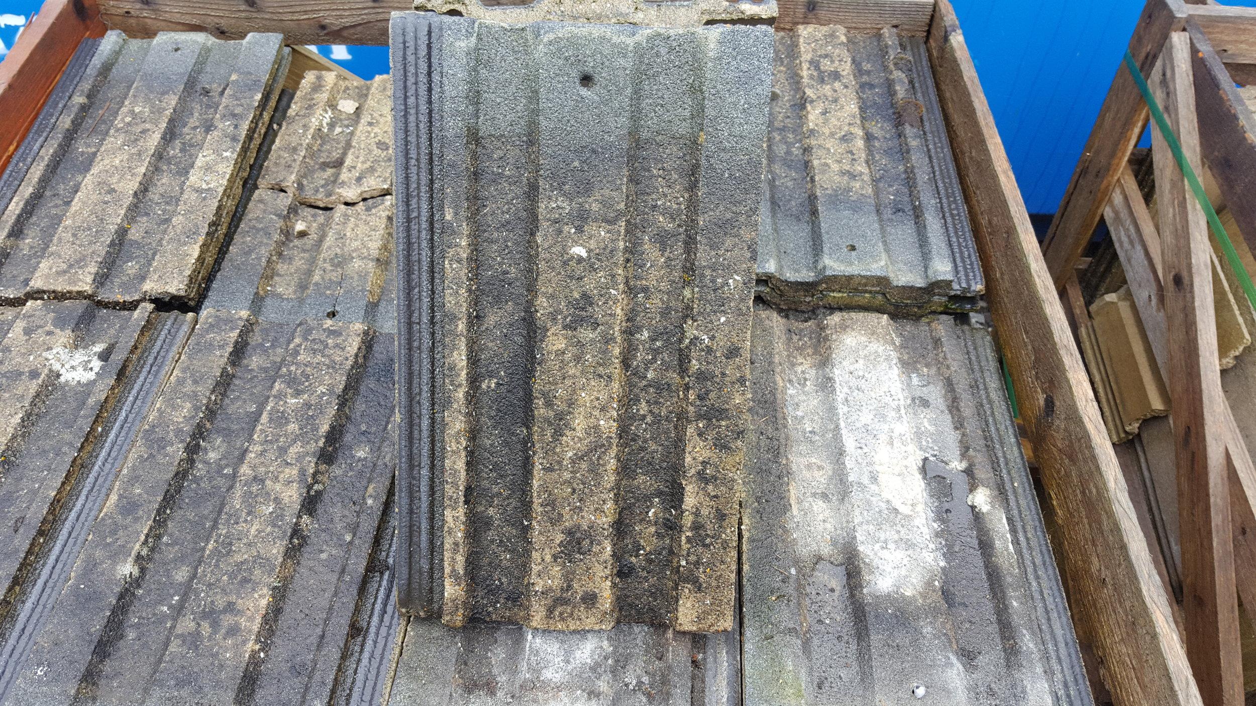 Second hand Barnstable concrete tile