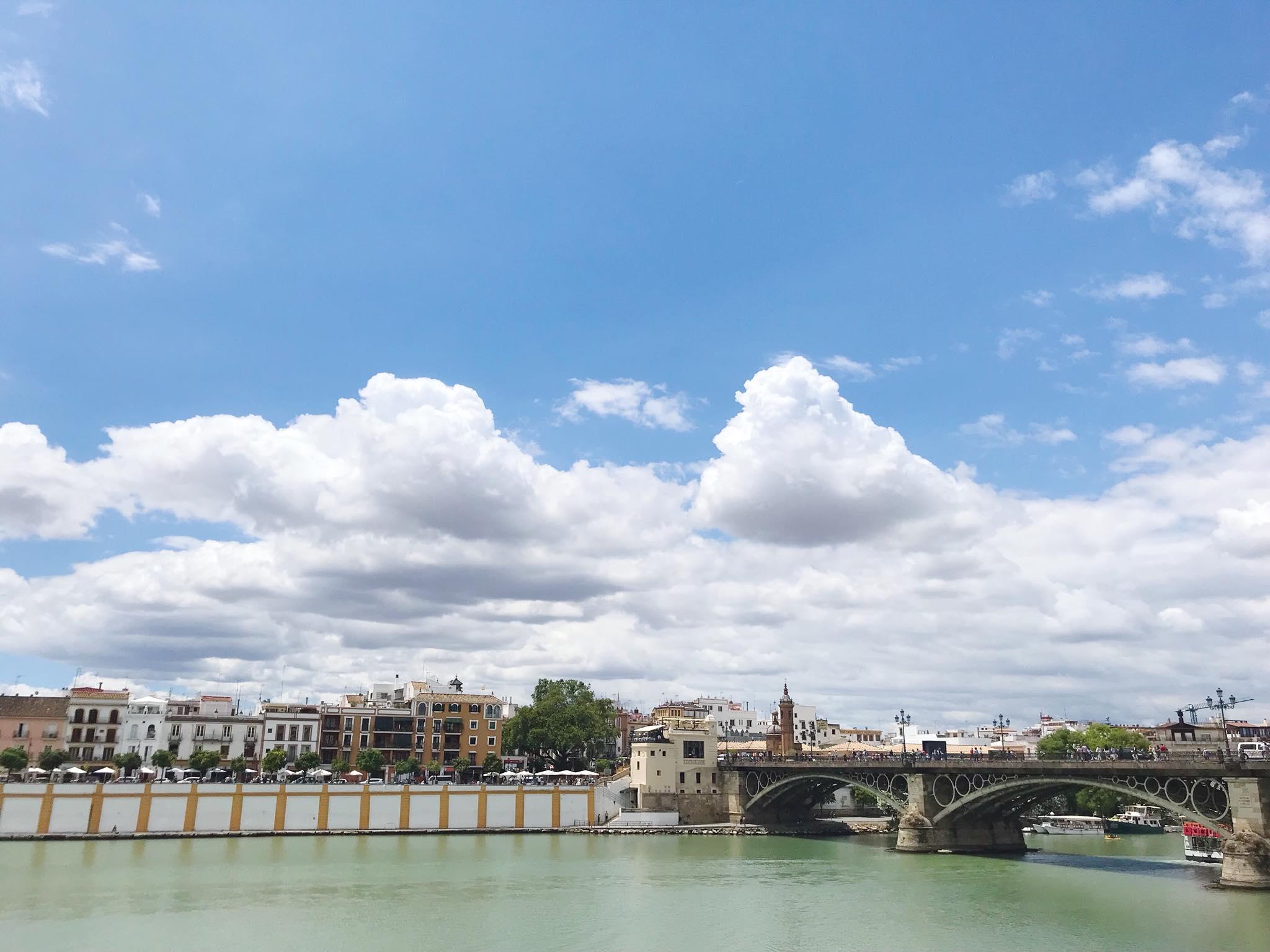 Seville riverside