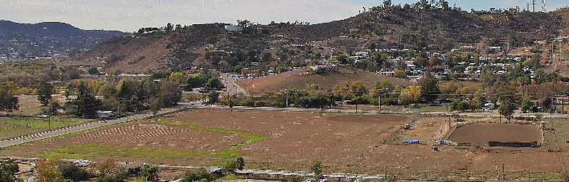 Site of the Lakeside Equestrian Park - photo by Billy Ortiz