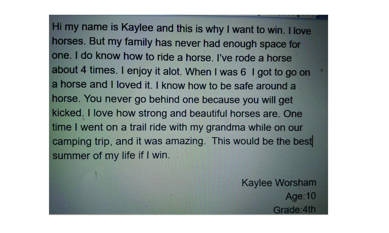 Kaylee Worsham