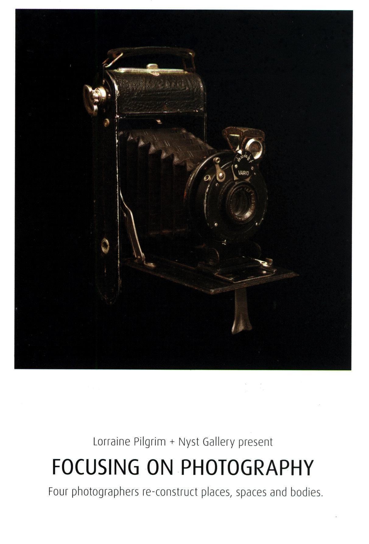Focusing on Photography exhibition at Lorraine Pilgrim Gallery