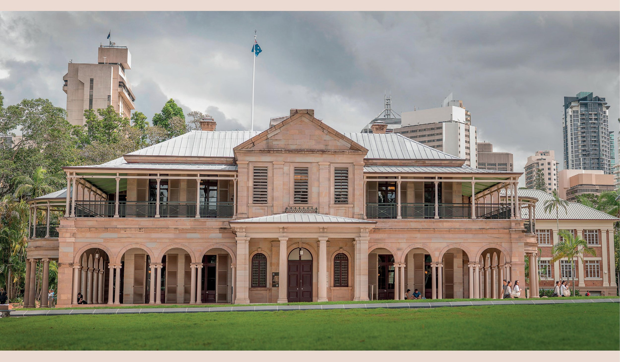 Old Government House, Brisbane Australia.